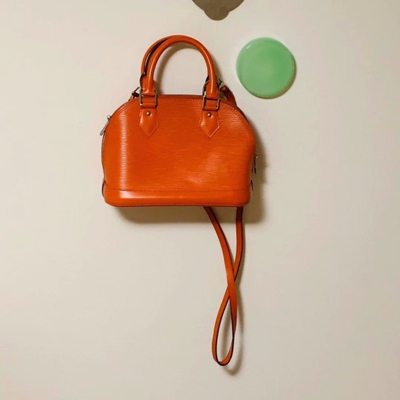 Louis Vuitton Handbags - Louis Vuitton Epi Alma BB Orange